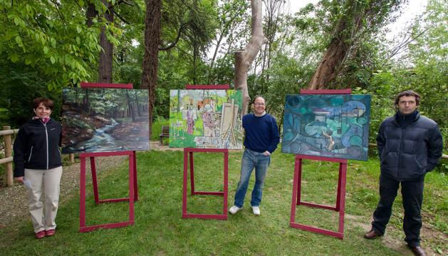 Los ganadores del concurso de pintura al aire libre