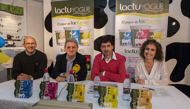 Gabriel Ziganda, Juan Pascual, Juanma Garro y Ana Carmen Huarte.