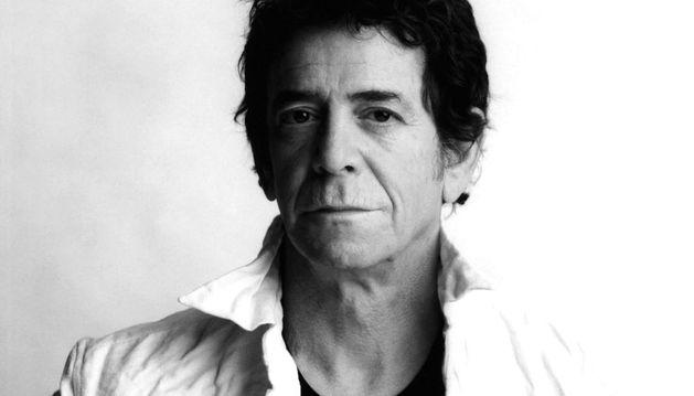 El músico Lou Reed.