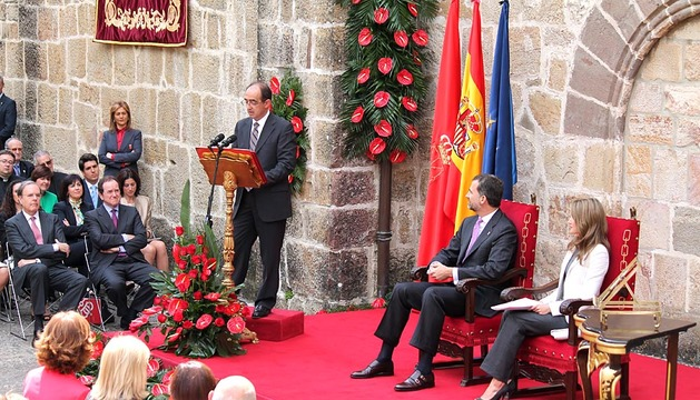 Entrega del premio Príncipe de Viana de la Cultura.