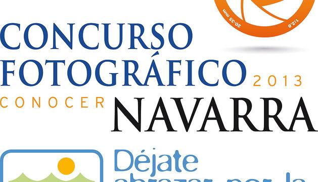 Logo del concurso Conocer Navarra.