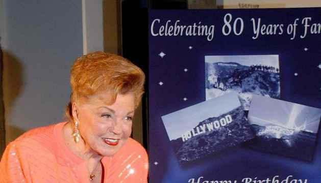 Fotografía de archivo de la actriz Esther Williams.