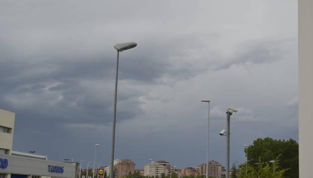 El mal tiempo vuelve a Pamplona