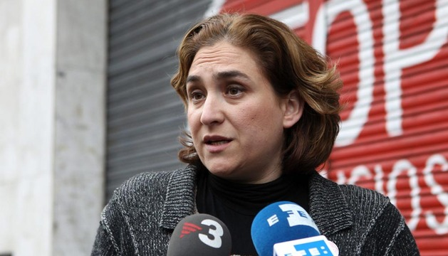 La portavoz de la Plataforma de Afectados por la Hipoteca, Ada Colau