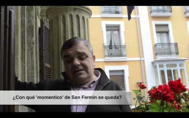 Eduardo Vall lanzará el chupinazo de San Fermín 2013