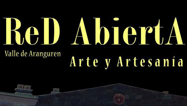 Cartel del I encuentro de Arte y Artesanía del Valle de Aranguren.