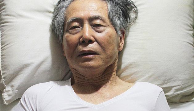 Imagen de Fujimori en 2012, retratado por su familia.