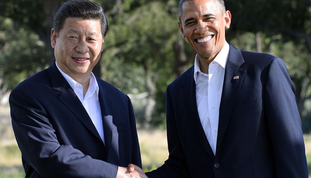 Los presidentes de EE UU y China celebran la cumbre en el sur de California.