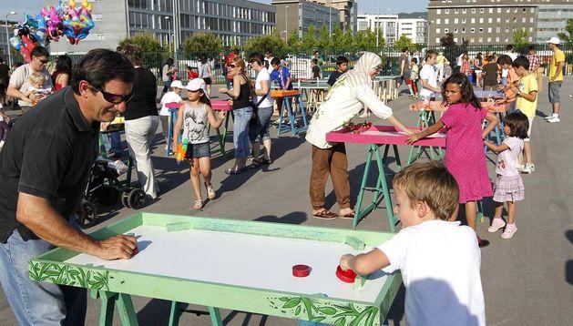 Fiestas de Sarriguren 2012.
