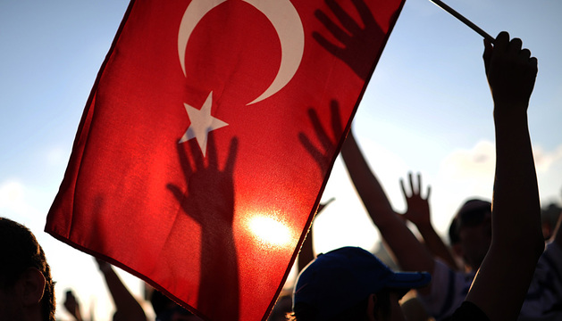 Protestas en las calles de Estambul (Turquía).