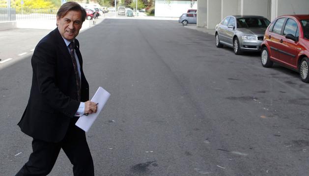 Miguel Archanco, presidente de Osasuna