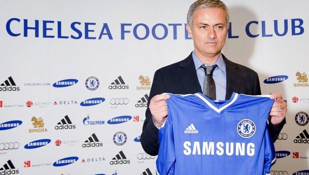 Jose Mourinho, en su presentación como entrenador del Chelsea