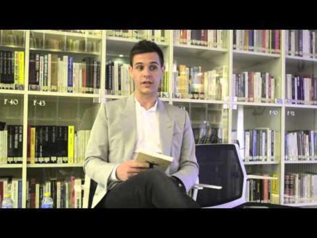 Christian Gálvez presenta su libro