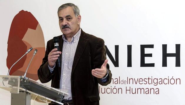 José Antonio Bermúdez de Castro, uno de los investigadores