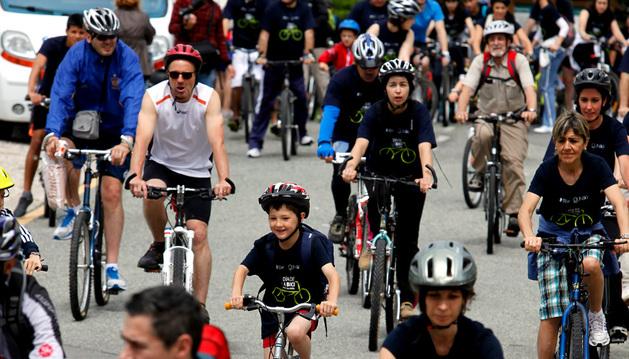 Imagen de la pasada edición del Día de la Bicicleta