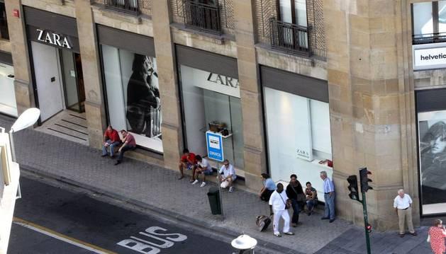 Tienda de Zara en Pamplona.