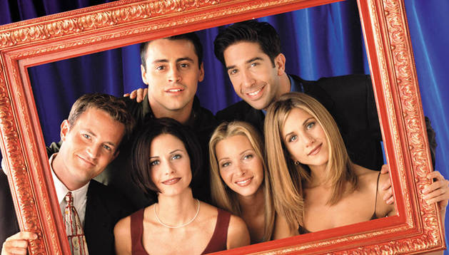 Reparto de la serie Friends