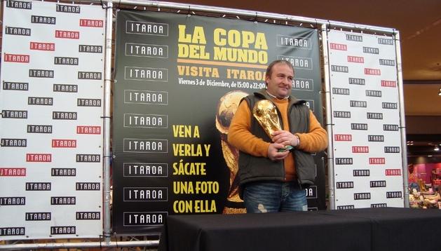 La Copa del Mundo ya visitó Itaroa en diciembre de 2010