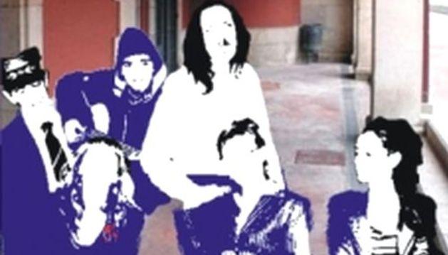 Cartel de la obra de teatro amateur 'Hermanas'.