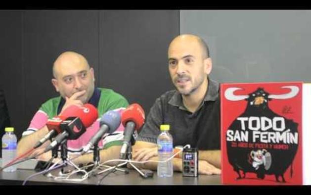 César Oroz presenta su último libro