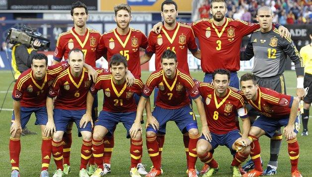 La selección española intentará ganar la Copa Confederaciones