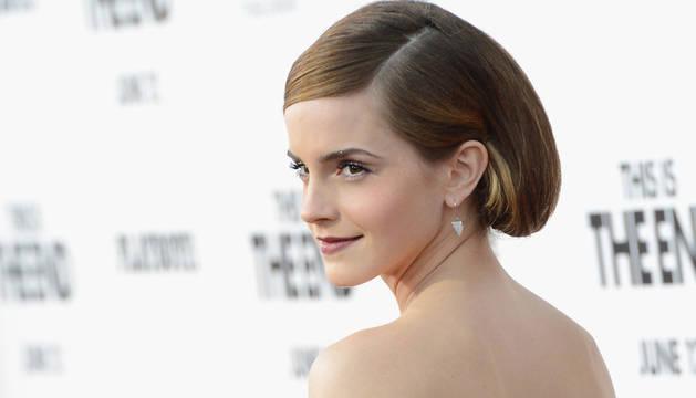 Emma Watson, en la presentación de