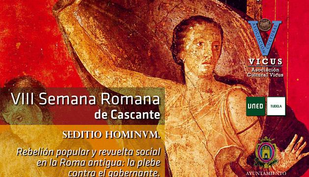 Cartel de la VIII Semana Romana de Cascante