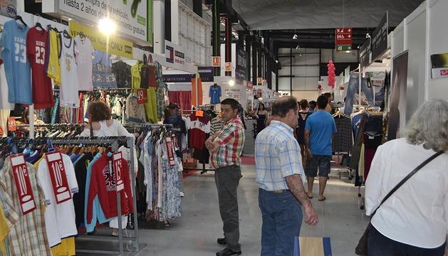 Último día de la primera Feria de Outlet de Navarra