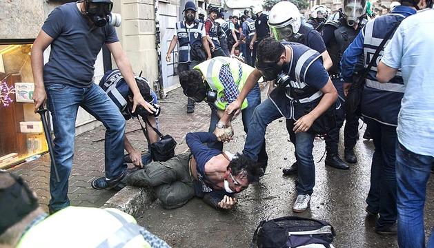 Disturbios y detenciones en Turquía