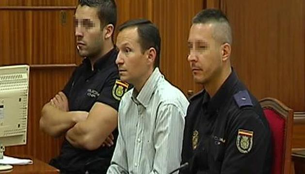 José Bretón, en el banquillo de los acusados.