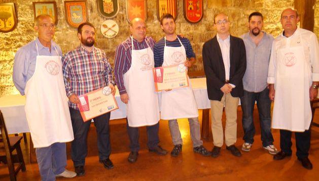 Antonio Rueda, Luis salcedo, Eugenio González, Jon Urrutikoetxea, José Luis Pujol, Jesús Iñigo y José María Erice.