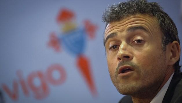 Luis Enrique, nuevo entrenador del Celta