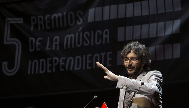 El cantautor gallego Xoel López