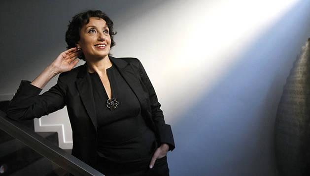 La cantautora española Luz Casal
