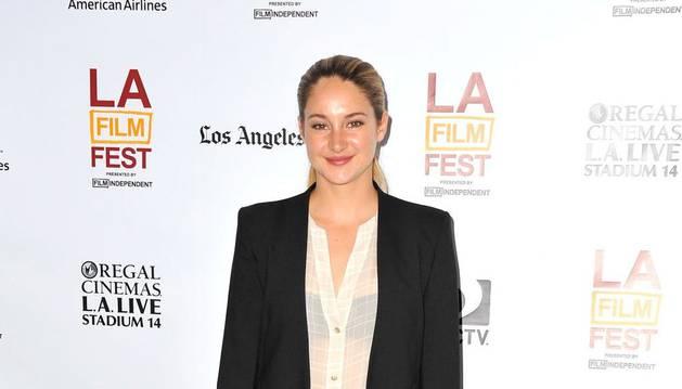 La actriz Shailene Woodley.