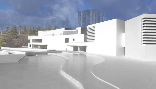 Así será el Museo Universidad de Navarra.