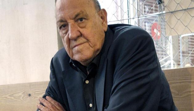 Fotografía de archivo, del 17/10/2012, del escritor y dramaturgo aragonés Javier Tomeo