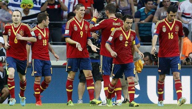 La selección española busca esta semana el único título que le falta, la Copa Confederaciones