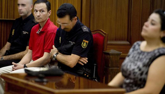 José Bretón, en la jornada de este lunes del juicio