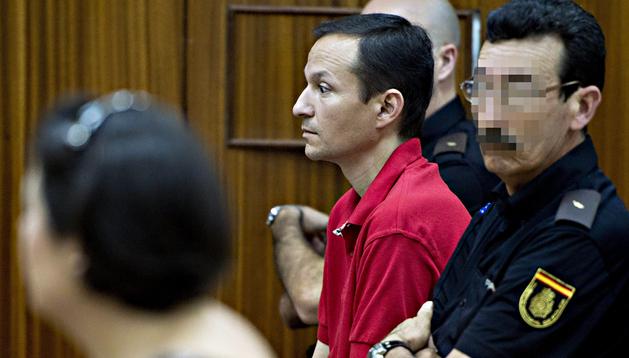 José Bretón, en el banquillo de los acusados en la sexta jornada del juicio
