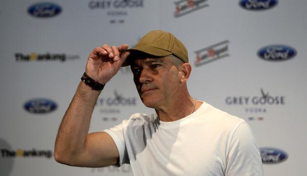 Antonio Banderas en la presentación de la gala
