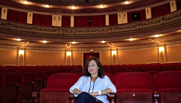 Carmen Machi en el teatro Gayarre