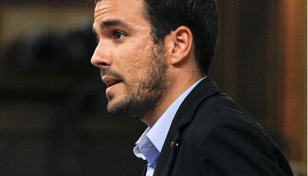 El diputado de IU Alberto Garzón