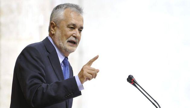 El presidente de la Junta de Andalucía Jose Antonio Griñán.