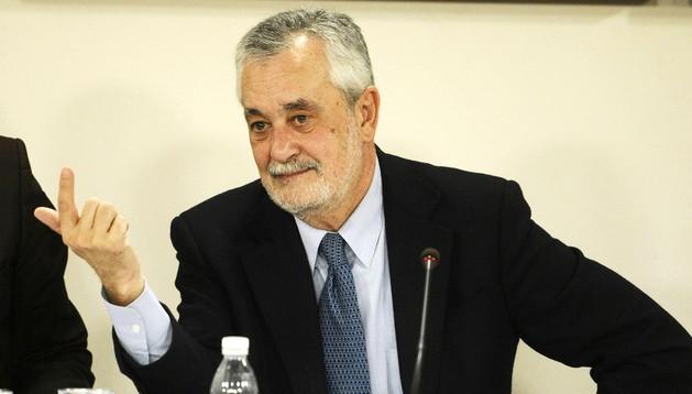 Presidente de la Junta de Andalucía, José Antonio Griñán