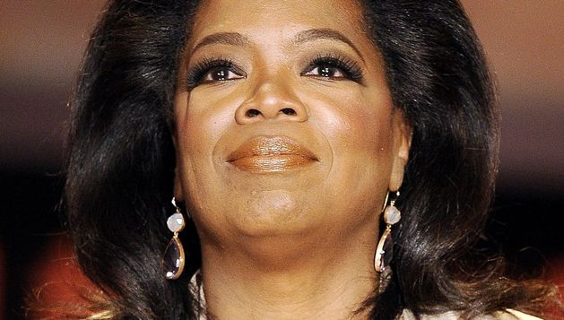 La estrella televisiva Oprah Winfrey.