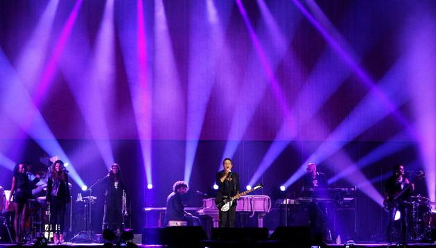 Alejandro Sanz en el concierto de Madrid
