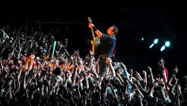 Springsteen en un momento del concierto