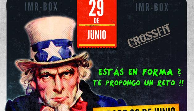Cartel del segundo Torneo de CrossFit IMR-Box