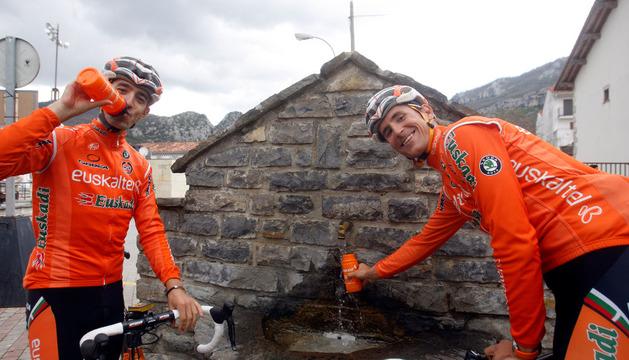 Mikel Nieve y Juanjo Oroz